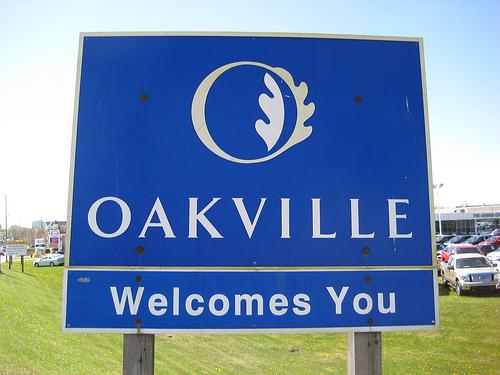 QEW Oakville Sign
